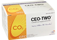 CEO-TWO® LAXATIVE SUPPOSITORIES – BOX OF 54