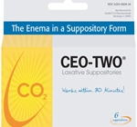 CEO-TWO® LAXATIVE SUPPOSITORIES – BOX OF 6